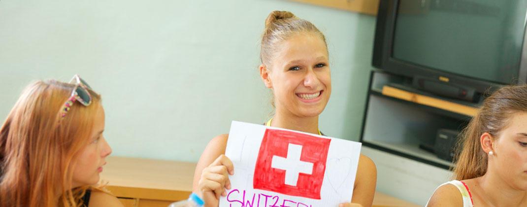 Svájci diák