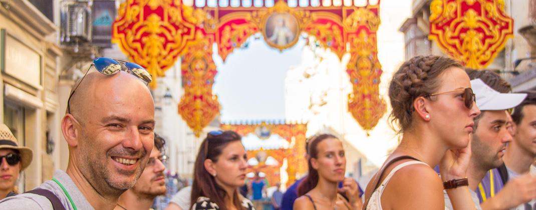 Fesztivál itt Valletta