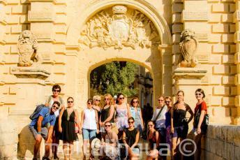 Angol nyelvű vezetett túra Mdinába