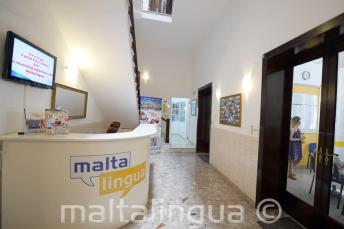 Málta angol nyelviskola, recepció