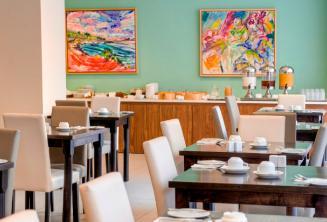 Étterem az Argento Hotelben
