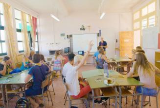 Nyári tábor osztályterem